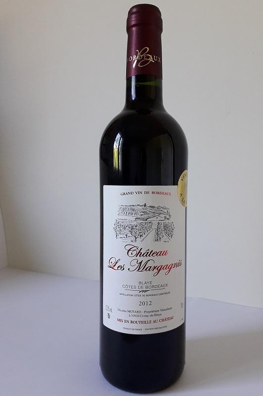 vins de bordeaux côte de blaye 2012