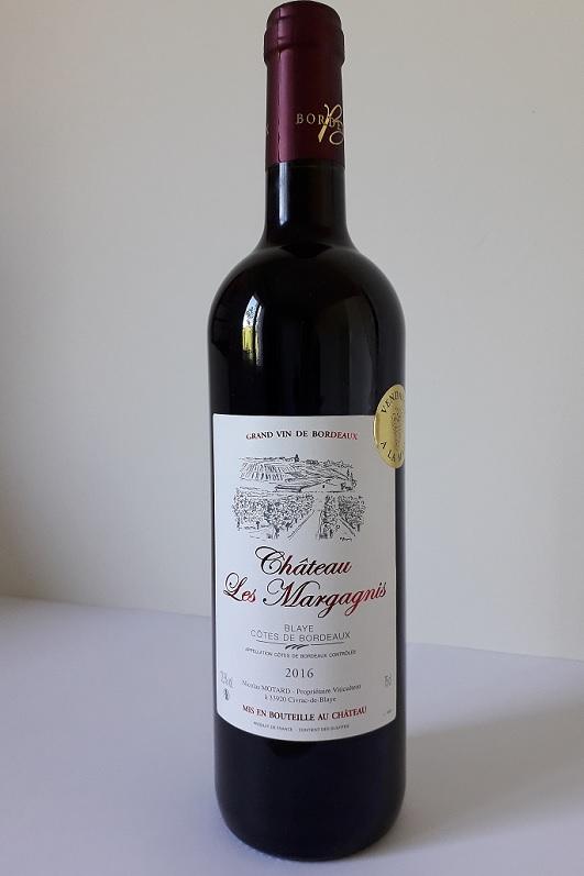 vins de bordeaux côte de blaye 2016