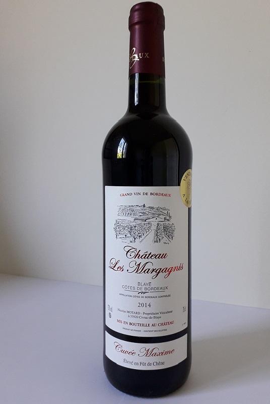 vins de bordeaux cuvée maxime