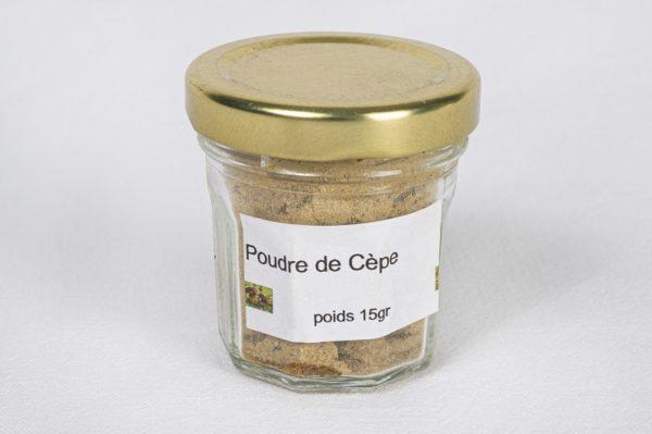 poudre de cèpe 15 grammes