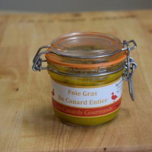 foie gras mi-cuit entier 200gr