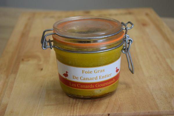 foie gras mi-cuit entier 350gr