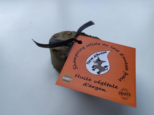 shampoing lait d'ânesse huile d'argan direct producteur