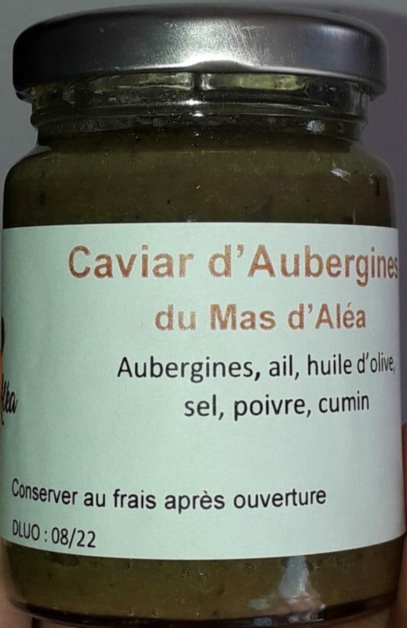 caviar d'aubergine direct producteur