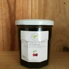 confiture de cerises artisanale en vente directe producteur
